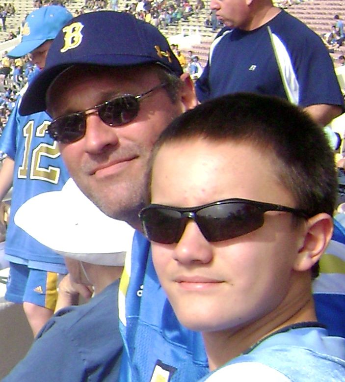 Nick and Dad 11/7/09